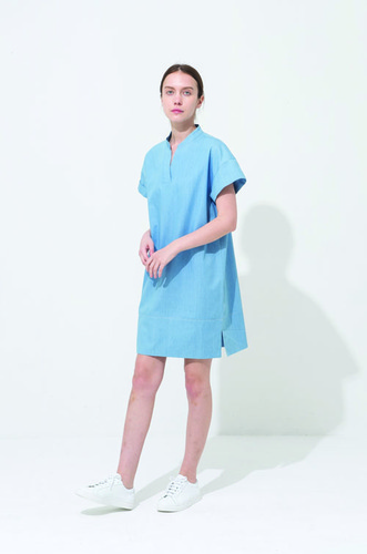CHINA ROLL-UP DRESS DN