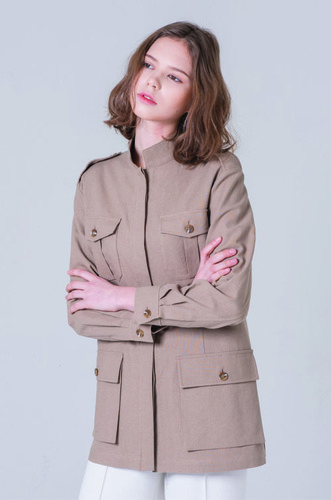 MANISH LINEN JACKET [BE]